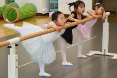 バレエしりや 守口教室 2016年1月レッスン風景